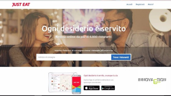 Just eat innovazione per le banche - innovation coach