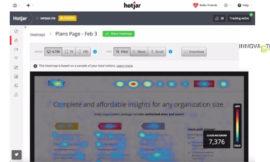 HOTJAR: come tracciare dove si sofferma un utente su un sito.